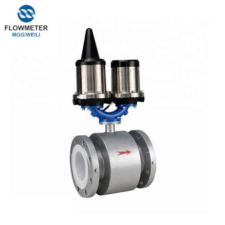 Тип аналогового Emg SS316 Электрод расходомер воды расходомер батареи