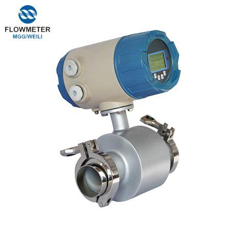 MGG санитарно-пищевой электромагнитный расходомер